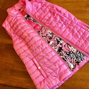 NWT Lilly Pulitzer Puffer Vest 💕
